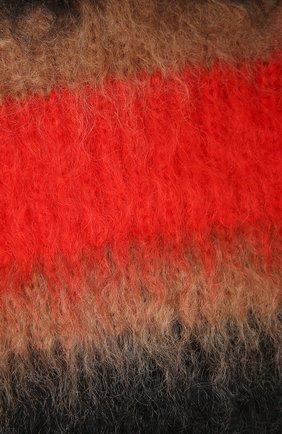 Женский шарф BURBERRY бежевого цвета, арт. 8037078   Фото 2