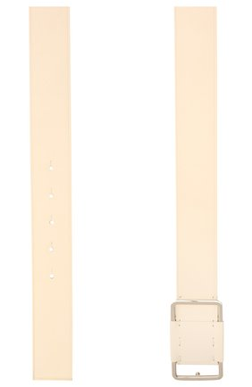 Женский кожаный ремень LORO PIANA кремвого цвета, арт. FAL6808   Фото 2 (Кросс-КТ: Широкие)