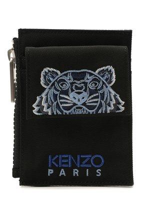 Женский футляр для кредитных карт KENZO черного цвета, арт. FA65PM306F20   Фото 1