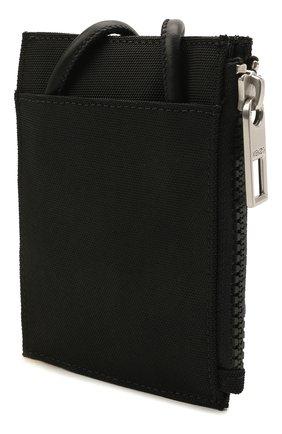 Женский футляр для кредитных карт KENZO черного цвета, арт. FA65PM306F20   Фото 2