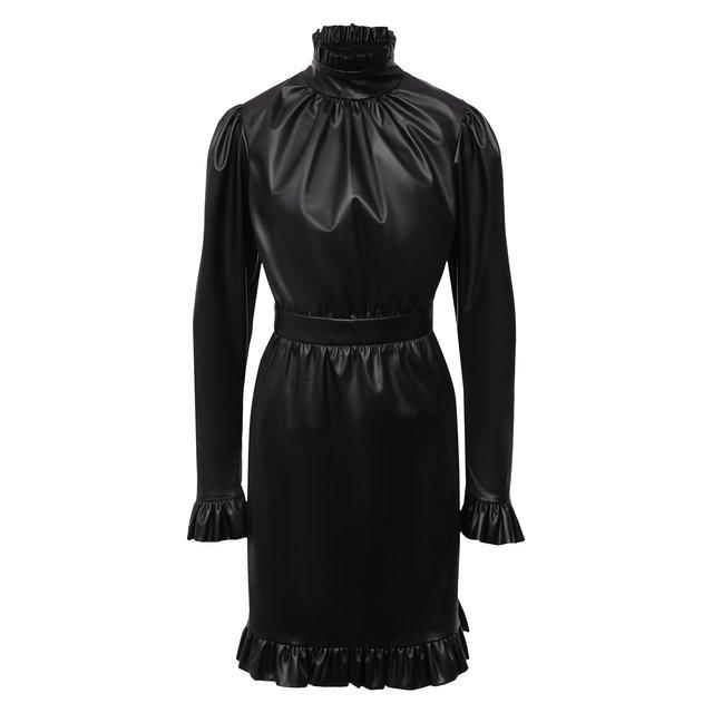 Платье из экокожи Masterpeace