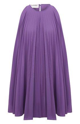 Женское платье VALENTINO фиолетового цвета, арт. VB3VAV604H2 | Фото 1