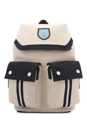 Рюкзак из хлопка и льна | Фото №1