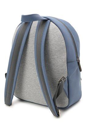 Детская хлопковый рюкзак BRUNELLO CUCINELLI голубого цвета, арт. BGLSTB103 | Фото 2