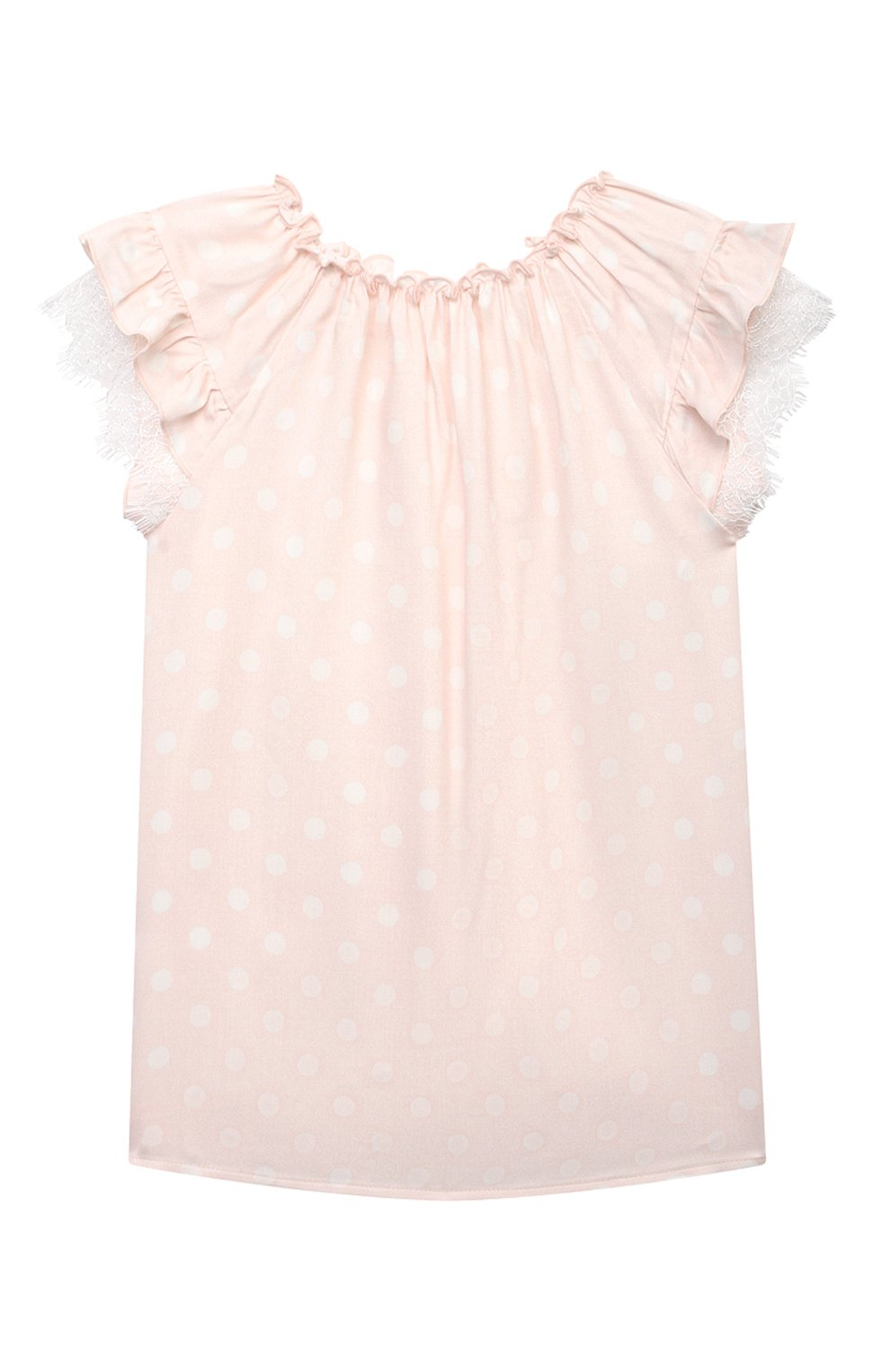 Детская пижама AMIKI CHILDREN светло-розового цвета, арт. ADELIA   Фото 3