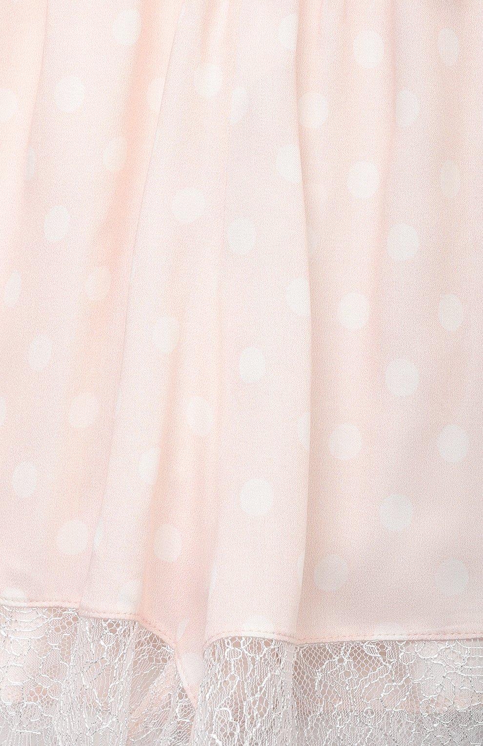 Детская пижама AMIKI CHILDREN светло-розового цвета, арт. ADELIA   Фото 6