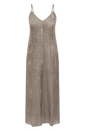 Женское платье FORTE_FORTE хаки цвета, арт. 8104 | Фото 1