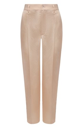 Женские брюки из вискозы FORTE_FORTE бежевого цвета, арт. 8019 | Фото 1