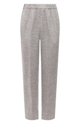 Женские брюки FORTE_FORTE серого цвета, арт. 8010 | Фото 1