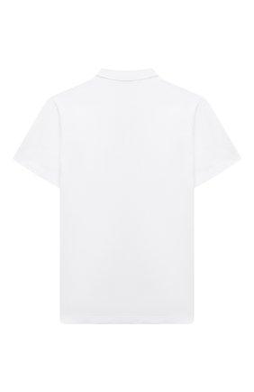 Детская хлопковая рубашка PAOLO PECORA MILANO белого цвета, арт. PP2584/8A-12A | Фото 2 (Материал внешний: Хлопок; Случай: Повседневный; Рукава: Короткие; Ростовка одежда: 10 - 11 лет | 140 - 146см, 12 лет | 152 см, 8 лет | 128 см)