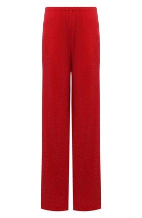 Женские брюки из вискозы ALEXANDRE VAUTHIER красного цвета, арт. 211PA1353B 1029B-202 | Фото 1