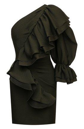 Женское платье ALEXANDRE VAUTHIER бронзового цвета, арт. 211DR1435 1402-211 | Фото 1