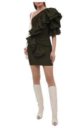 Женское платье ALEXANDRE VAUTHIER бронзового цвета, арт. 211DR1435 1402-211 | Фото 2