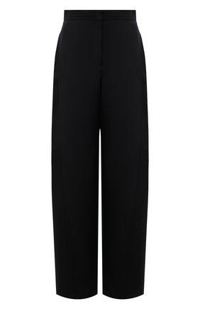 Женские шерстяные брюки LOEWE черного цвета, арт. S540Y04X31 | Фото 1
