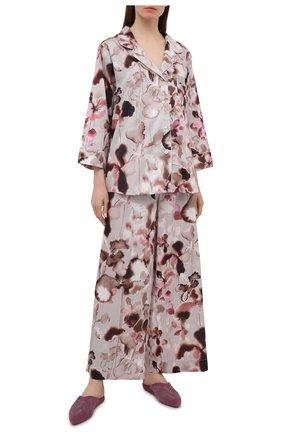 Женская хлопковая пижама ZIMMERLI светло-розового цвета, арт. 5143-39072 | Фото 1
