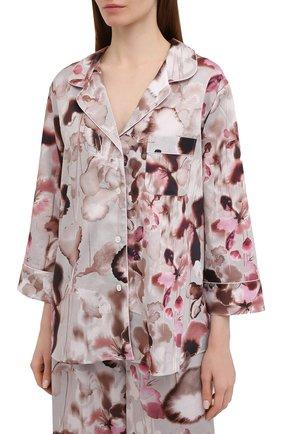 Женская хлопковая пижама ZIMMERLI светло-розового цвета, арт. 5143-39072 | Фото 2