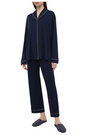 Женская пижама HANRO темно-синего цвета, арт. 077966 | Фото 1