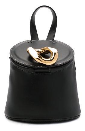 Женская сумка lid bucket JW ANDERSON черного цвета, арт. HB0318 LA0020 | Фото 1