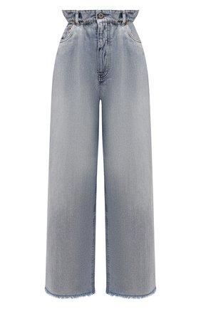 Женские джинсы MIU MIU синего цвета, арт. GWP333-1SXP-F0013 | Фото 1