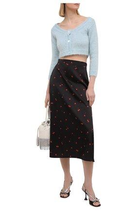 Женская юбка MIU MIU черного цвета, арт. MG1369-1X94-F0002   Фото 2