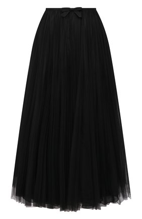 Женская юбка MIU MIU черного цвета, арт. MG1571-1YQH-F0002 | Фото 1