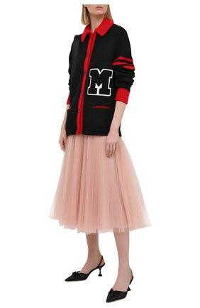 Женская юбка MIU MIU светло-розового цвета, арт. MG1571-1YQH-F0236 | Фото 2