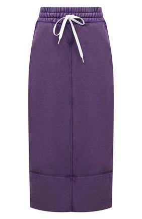 Женская хлопковая юбка MIU MIU разноцветного цвета, арт. MJD175-1IG3-F0014 | Фото 1