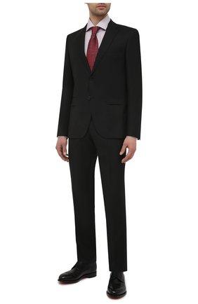Мужская хлопковая сорочка BOSS светло-бежевого цвета, арт. 50450924 | Фото 2