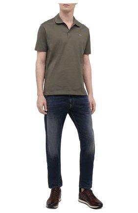 Мужские джинсы DIESEL темно-синего цвета, арт. A00088/069NE | Фото 2