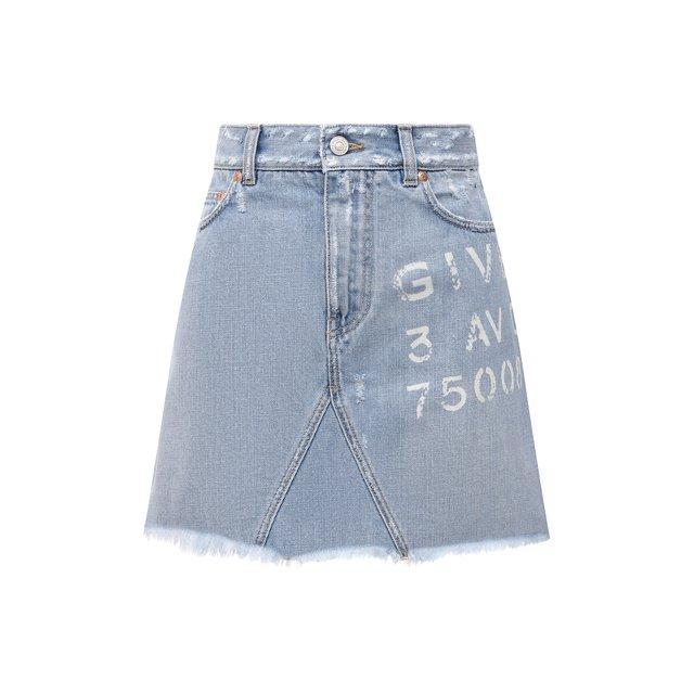 Джинсовая юбка Givenchy