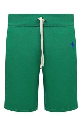 Мужские шорты POLO RALPH LAUREN зеленого цвета, арт. 710790292 | Фото 1