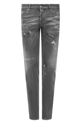 Мужские джинсы DSQUARED2 серого цвета, арт. S74LB0866/S30260   Фото 1