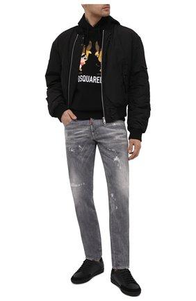 Мужские джинсы DSQUARED2 серого цвета, арт. S74LB0866/S30260   Фото 2