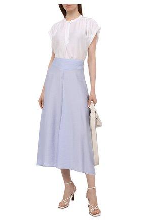 Женская юбка FORTE_FORTE голубого цвета, арт. 8070 | Фото 2