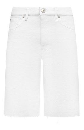 Женские джинсовые шорты 3X1 белого цвета, арт. WS0110952/0PTIC WHITE | Фото 1
