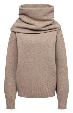 Женский свитер THE FRANKIE SHOP бежевого цвета, арт. KN 0CS KR 10 | Фото 1