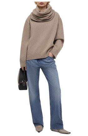 Женский свитер THE FRANKIE SHOP бежевого цвета, арт. KN 0CS KR 10 | Фото 2