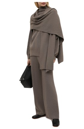 Женский свитер THE FRANKIE SHOP коричневого цвета, арт. ST RKT KR 10 | Фото 2
