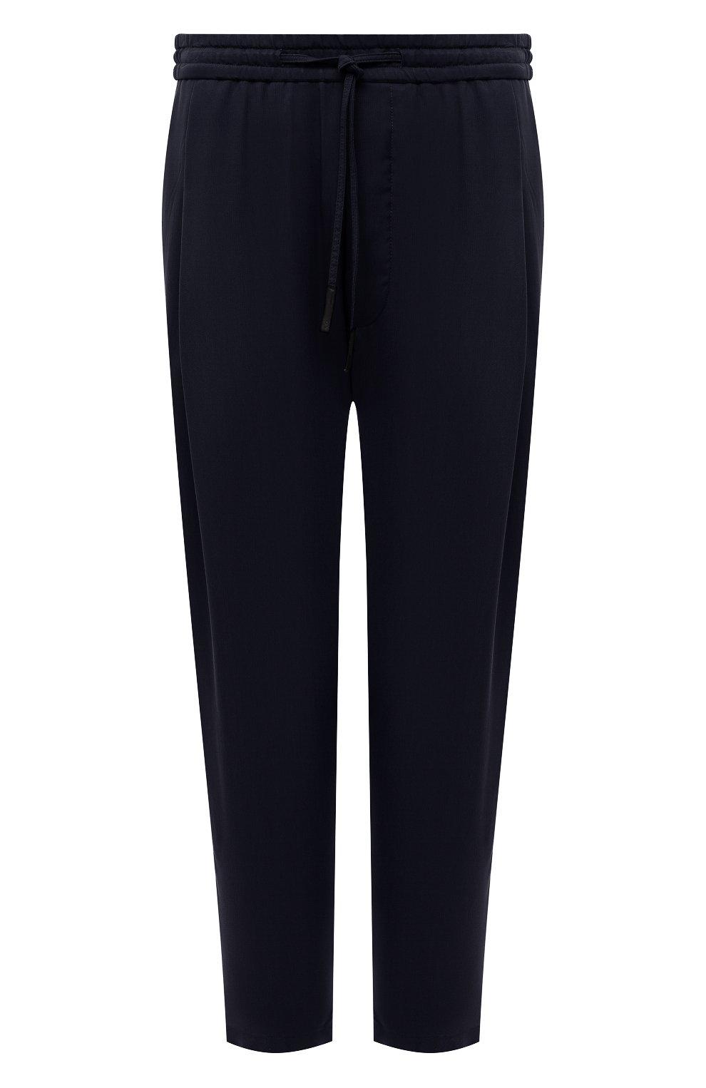 Мужские брюки GIORGIO ARMANI темно-синего цвета, арт. 1SGPP0HG/T00AB | Фото 1
