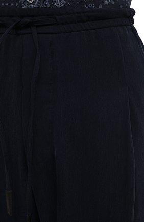 Мужские брюки GIORGIO ARMANI темно-синего цвета, арт. 1SGPP0HG/T00AB | Фото 5