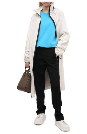 Женский хлопковый свитшот ALEXANDRE VAUTHIER синего цвета, арт. 211T01212B 1004B-204 | Фото 2