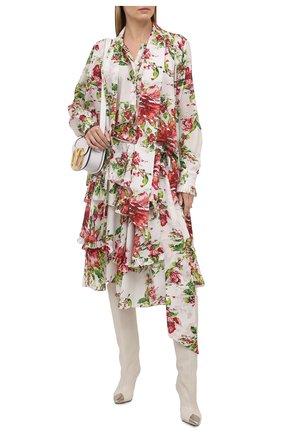 Женская шелковая юбка ALEXANDRE VAUTHIER разноцветного цвета, арт. 211SK1401 1414-211 | Фото 2
