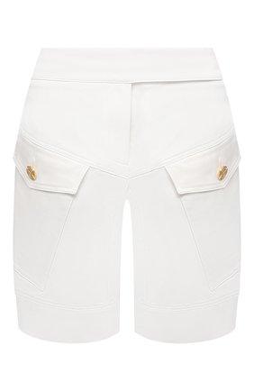Женские хлопковые шорты ALEXANDRE VAUTHIER белого цвета, арт. 211PA1407 1300-203   Фото 1