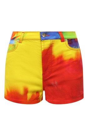 Женские джинсовые шорты ALEXANDRE VAUTHIER разноцветного цвета, арт. 211PA1403 1418-211 | Фото 1