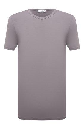 Мужская футболка ZIMMERLI серого цвета, арт. 700-1346 | Фото 1