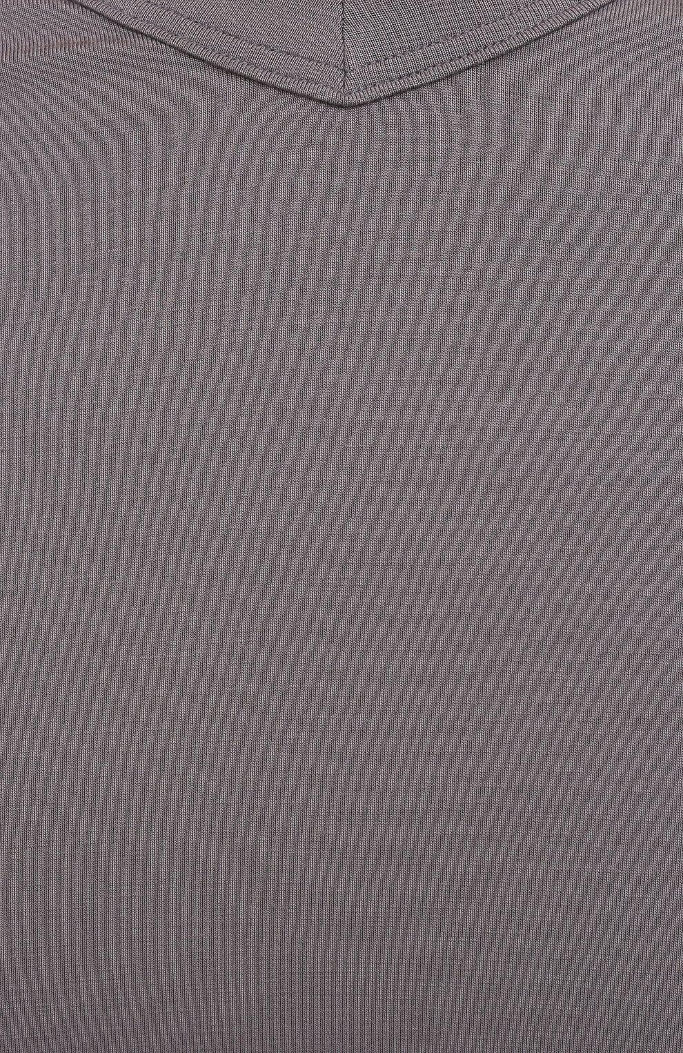 Мужская футболка ZIMMERLI серого цвета, арт. 700-1346 | Фото 5 (Кросс-КТ: домашняя одежда; Рукава: Короткие; Материал внешний: Синтетический материал; Длина (для топов): Стандартные; Мужское Кросс-КТ: Футболка-белье)