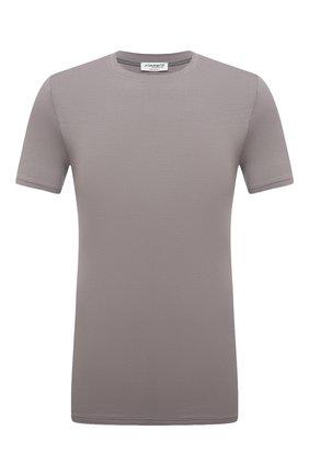 Мужская футболка ZIMMERLI темно-серого цвета, арт. 700-1341 | Фото 1
