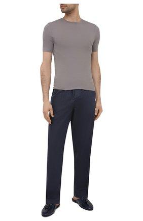Мужская футболка ZIMMERLI темно-серого цвета, арт. 700-1341 | Фото 2