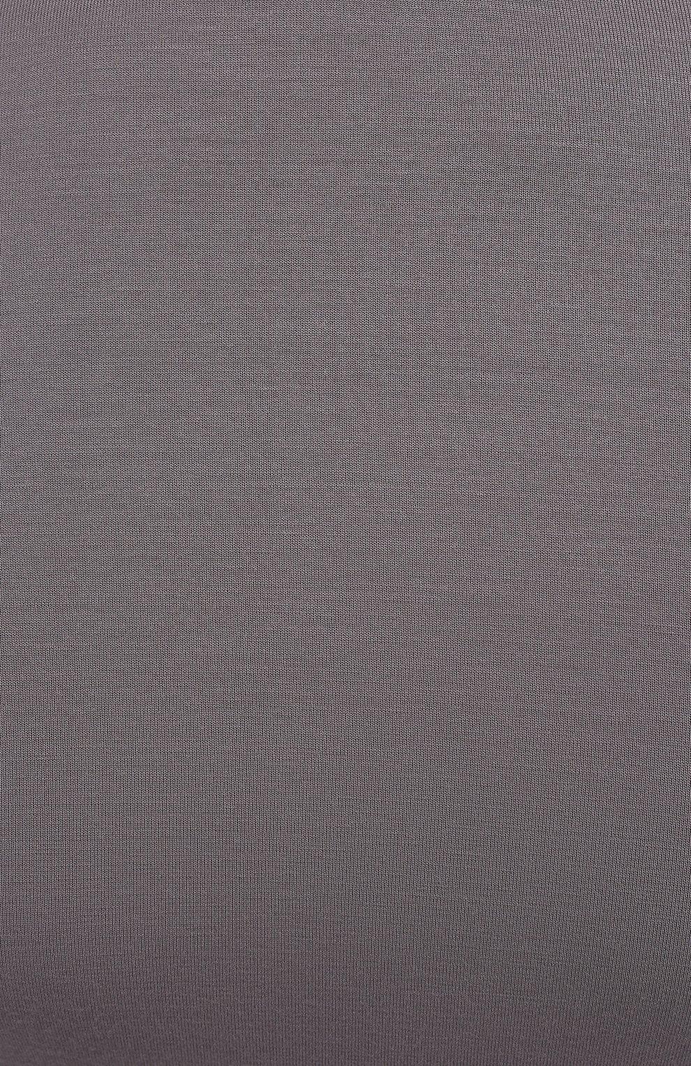 Мужская футболка ZIMMERLI темно-серого цвета, арт. 700-1341   Фото 5 (Кросс-КТ: домашняя одежда; Рукава: Короткие; Материал внешний: Синтетический материал; Длина (для топов): Стандартные; Мужское Кросс-КТ: Футболка-белье)