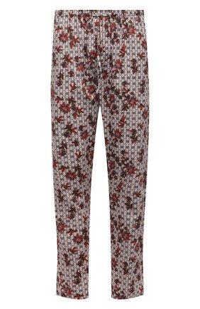Мужские хлопковые домашние брюки ZIMMERLI разноцветного цвета, арт. 4690-75182 | Фото 1 (Материал внешний: Хлопок; Длина (брюки, джинсы): Стандартные; Кросс-КТ: домашняя одежда; Мужское Кросс-КТ: Брюки-белье)